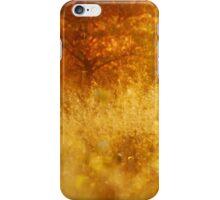 Autumn meadow iPhone Case/Skin