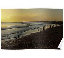 Portslade Basin Beach Poster