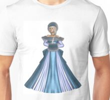 Winter Princess in Blue Unisex T-Shirt
