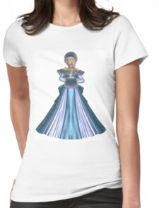 Winter Princess in Blue Womens Fitted T-Shirt