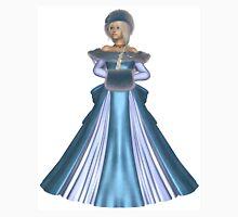Winter Princess in Blue Unisex T-Shirt