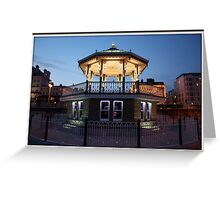 Brighton Birdcage Bandstand Greeting Card