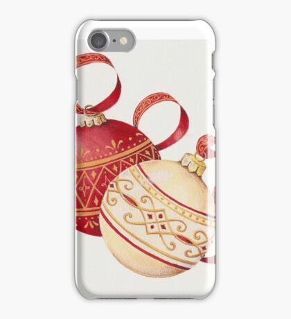 Ornaments and ribbons iPhone Case/Skin