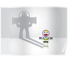 Childhood Beliefs - Buzz Lightyear Poster
