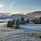 Sun Worship At Castlerigg by SteveMG