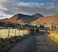 Newlands Valley From The Swinside Inn by SteveMG