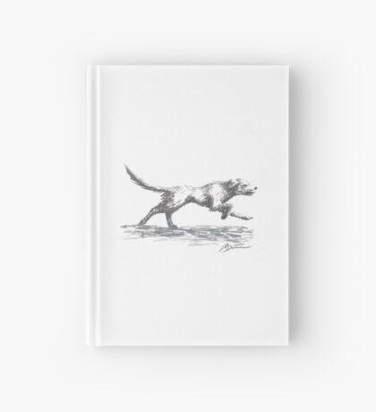 Running Dog Hardcover Journal