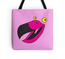 Beaker pink bird  Tote Bag