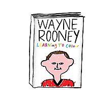 Wayne Rooney's Autobiography Photographic Print