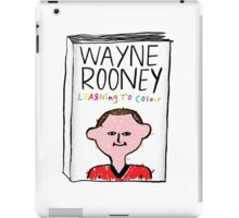 Wayne Rooney's Autobiography iPad Case/Skin