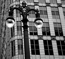 Detroit Lamp Post by PPPhotoArt