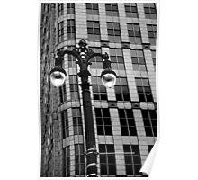 Detroit Lamp Post Poster