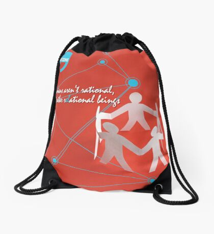 R-EL-ATIONAL Drawstring Bag