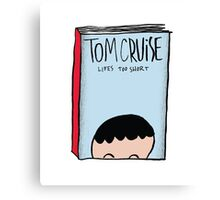 Tom Cruise's Autobiography Canvas Print