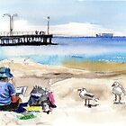 Artist's View, Altona by Karin Zeller