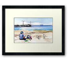 Artist's View, Altona Framed Print