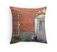 Bricked and Broken Throw Pillow