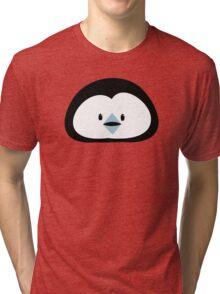 cute kawaii penguin face Tri-blend T-Shirt