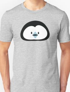 cute kawaii penguin face T-Shirt
