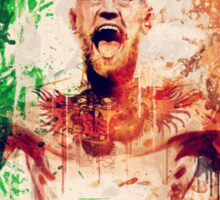 Conor McGregor Abstract | 2015 Sticker