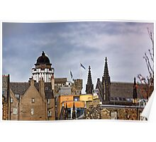 Edinburgh Rooftops Poster