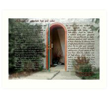 13th Century AD Description of Housecats Art Print
