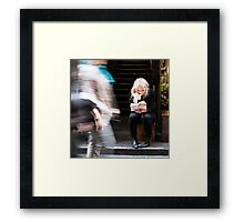 Silence Amongst The Chaos Framed Print