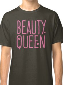 Beauty Queen with cute little hearts Classic T-Shirt