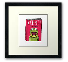 Kermit's Autobiography Framed Print