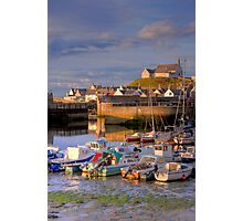 Harbour Light, Findochty Photographic Print