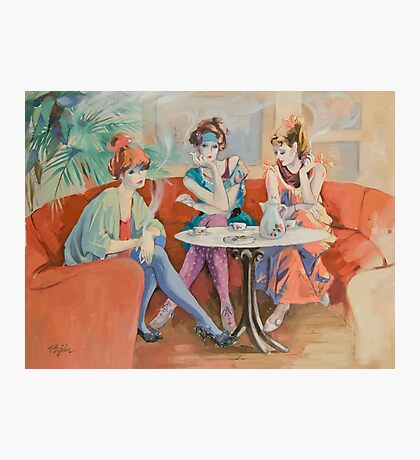 Cafe Chat Photographic Print