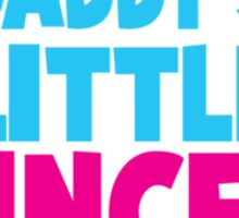 Daddy's little princess hearts Sticker
