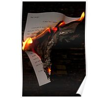 Up in Flames Poster