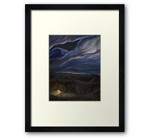 The Leonid Pyre Framed Print
