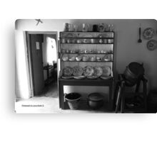 Quiet Rooms - Cottage Interior County Donegal. Canvas Print