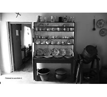 Quiet Rooms - Cottage Interior County Donegal. Photographic Print