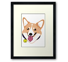 Mr Corgiworgi Framed Print
