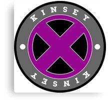 kinsey x-men Canvas Print