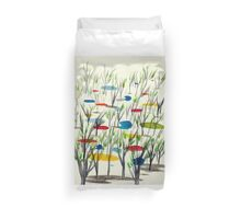 Reeds on Pond Duvet Cover