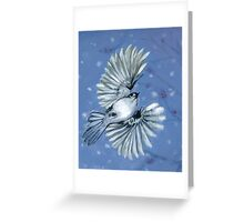winter muse Greeting Card
