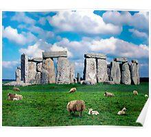 Salisbury Plain, UK Poster
