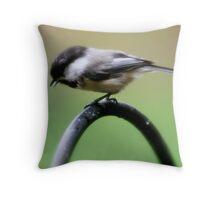 My Little Chickadee Throw Pillow