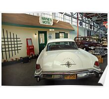Classic Lincoln Continental Poster