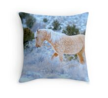 Liberty Stallion Of The Great Basin  Throw Pillow