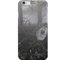 21.8.2015: Cobweb in the Misty Forest iPhone Case/Skin