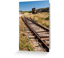 Alderney Railway Greeting Card