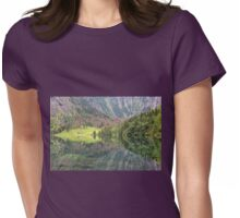 Nature's Mirror Womens Fitted T-Shirt