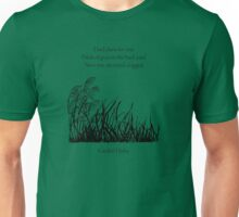 Garden Haiku Unisex T-Shirt