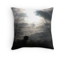 Dark Lady Throw Pillow