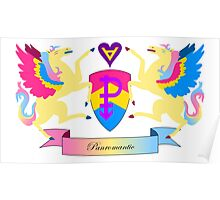 Panromantic Crest Poster